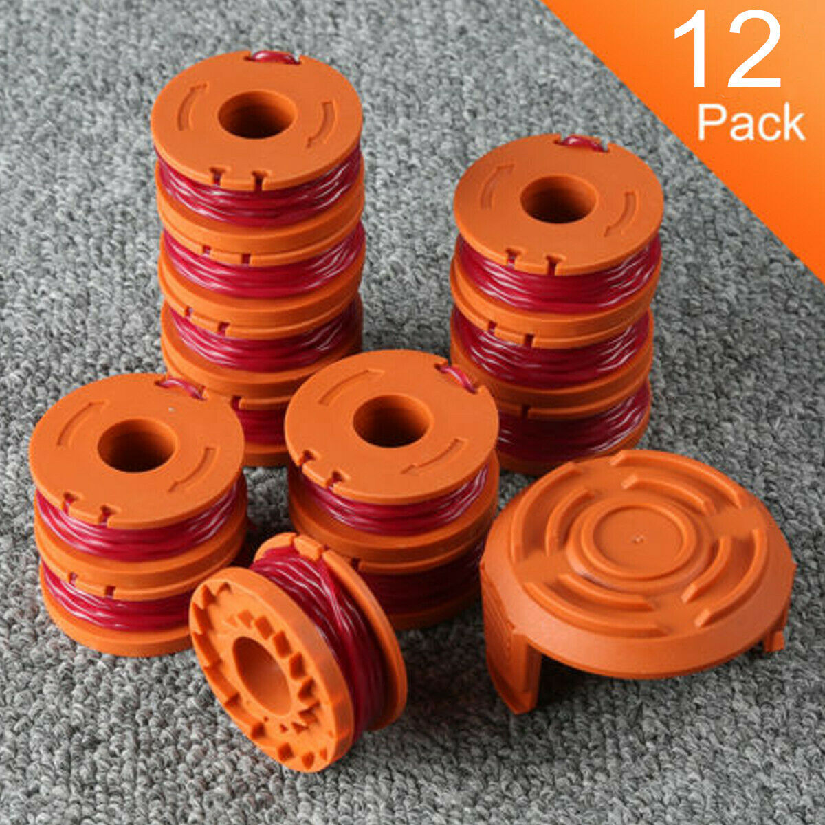 Line String Trimmer Replacement For Edger Spool Worx WA0010 Weed Eater 1 Pack