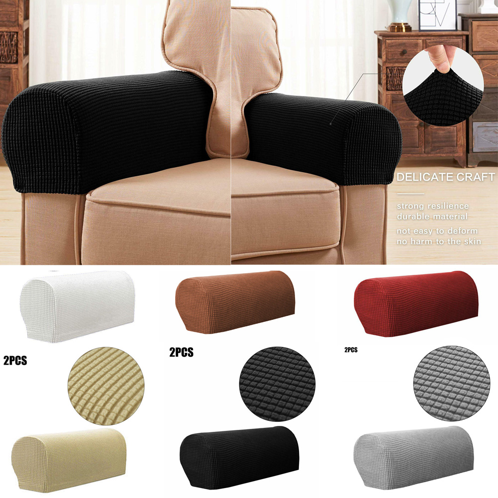 Groovy 1 Pair Armchair Covers Stretch Sofa Arm Caps For Chair Pabps2019 Chair Design Images Pabps2019Com