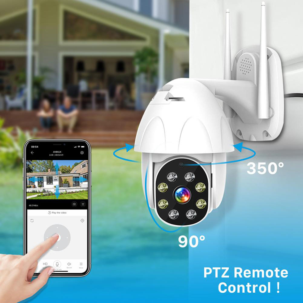 Details about WIFI 1080P Wireless IP Camera WIFI Outdoor Security HD IR  Night Network Motion