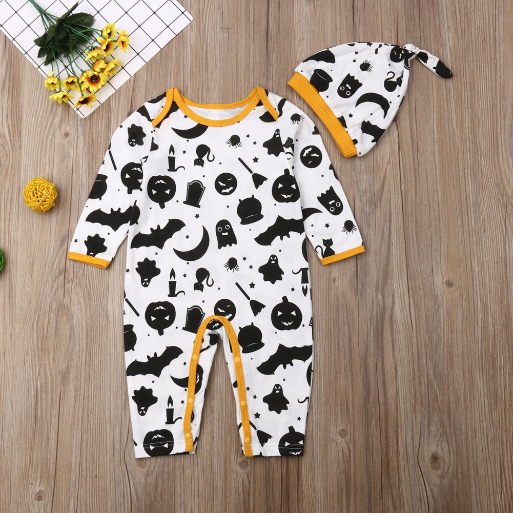 New Born Baby Halloween Clothes Boy Rompers Kids Costume For Girl fant Jumpsuit
