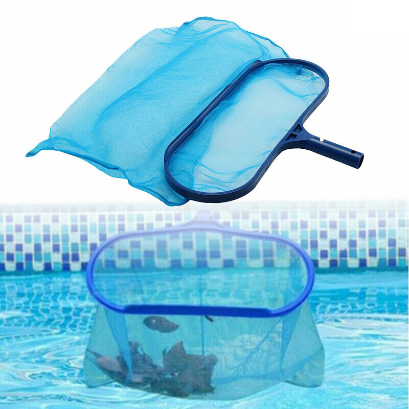 Details about Professional Leaf Rake Mesh Net Skimmer Clean Swimming Pool  Deep Bag Heavy Duty