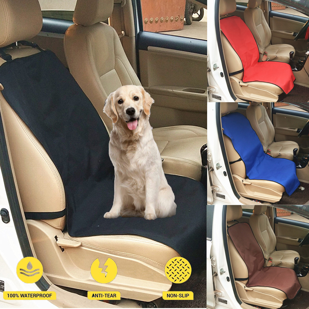 Peachy Waterproof Car Seat Protector Cover Mat Single Front Seat For Pet Dog Cat Travel Evergreenethics Interior Chair Design Evergreenethicsorg