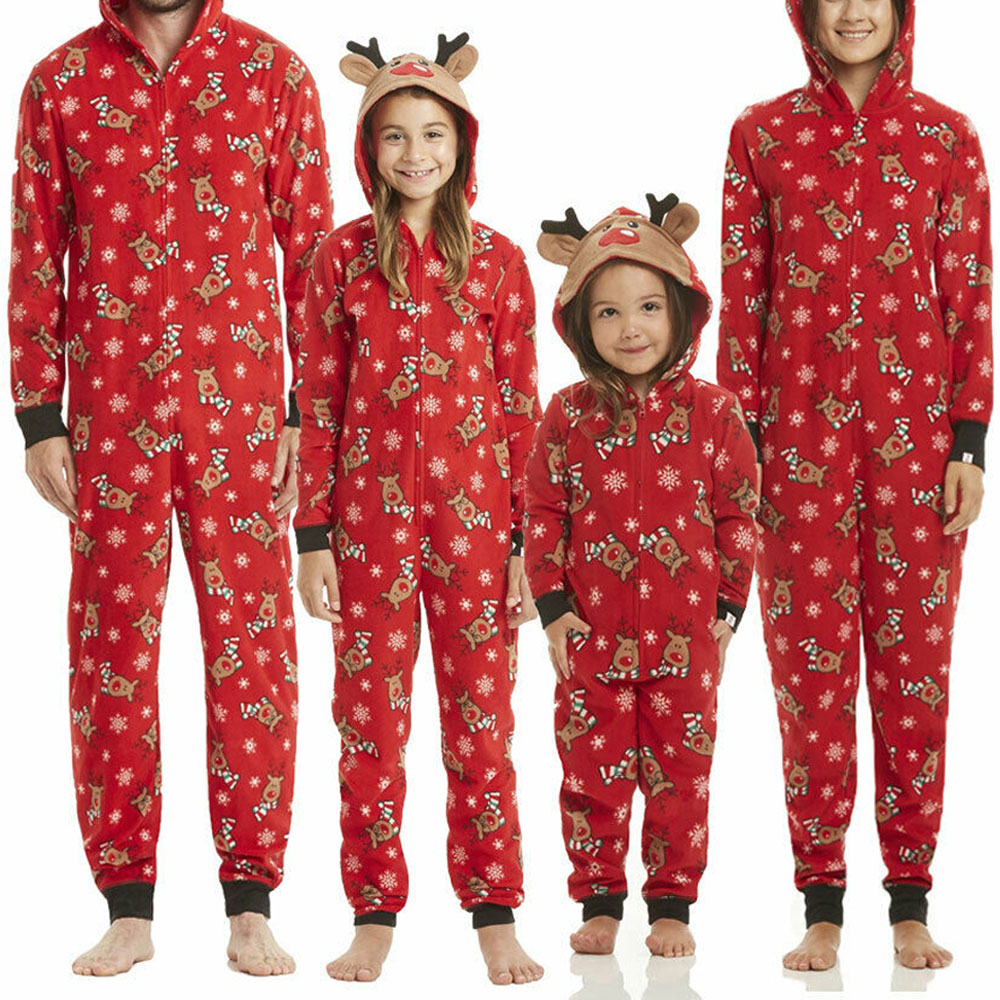 Matching Family Christmas Pajamas.Details About Family Christmas Pajamas Set Xmas Pjs Matching Pyjamas Adult Kids Xmas Sleepwear