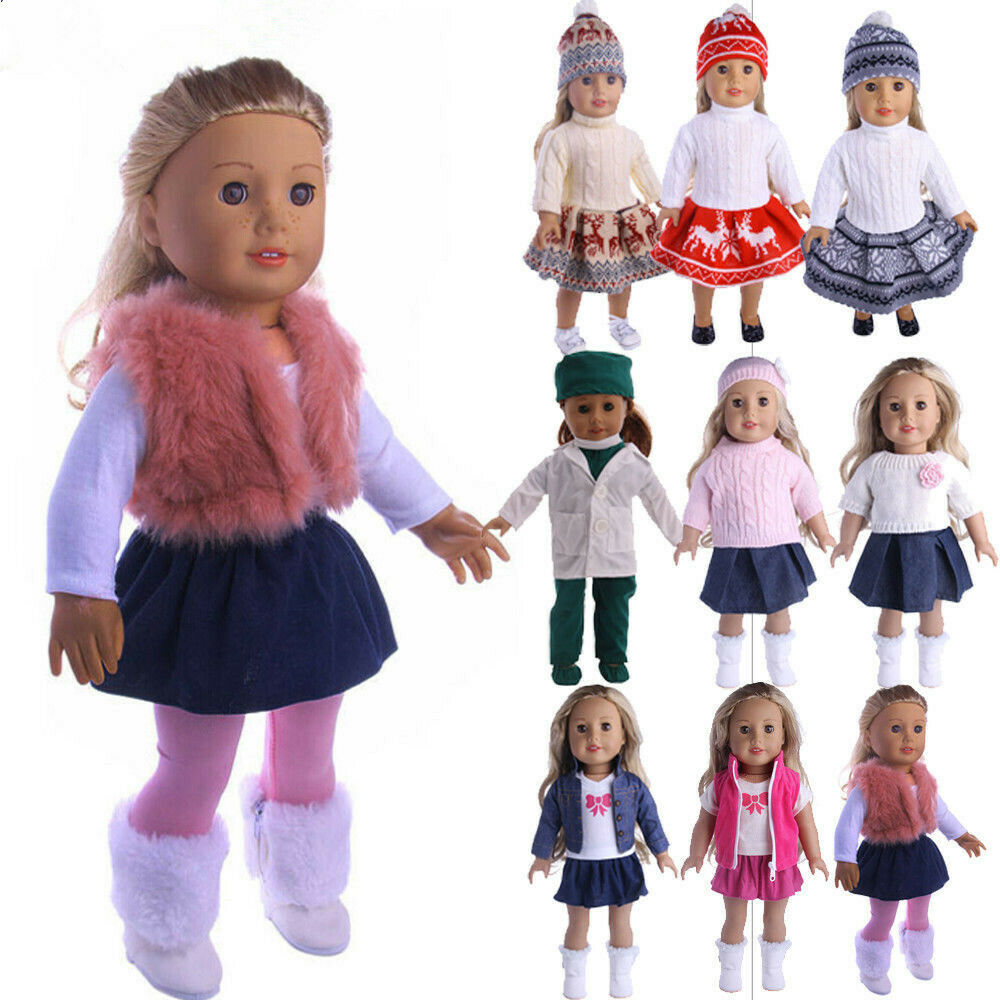 For 14 inch American Doll Doll Generation Doll Clothes Dress Skirt Outfits Accs
