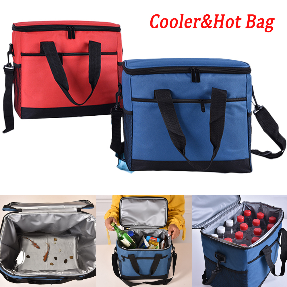 Portable Insulated Lunch Bag Small School Camping Lunchbox Cooler Thermal Bags