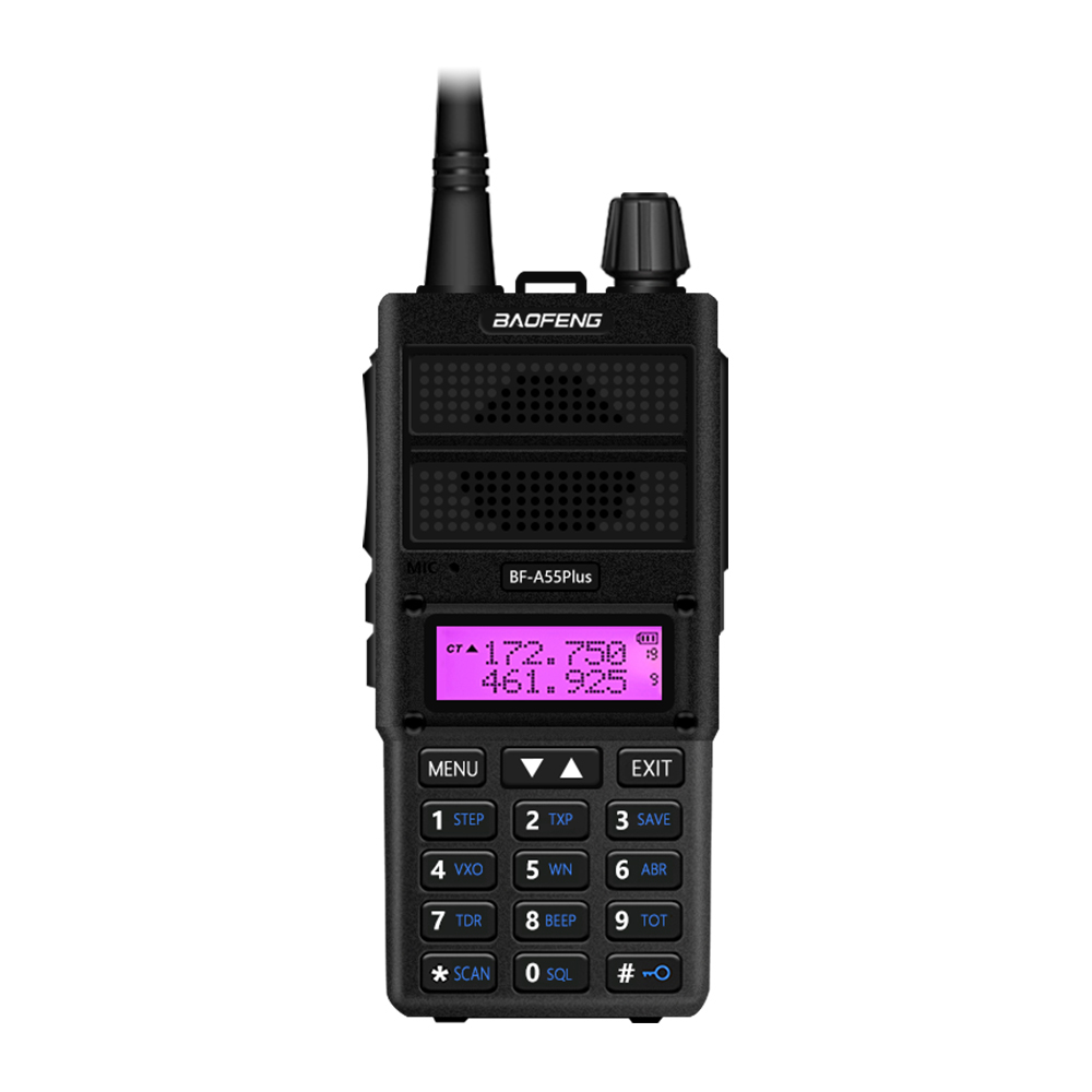Vineyuan A55Plus Long Range Two Way Radio 5W VHF//UHF Amateur Radio Handheld Walkie Talkies for Adults