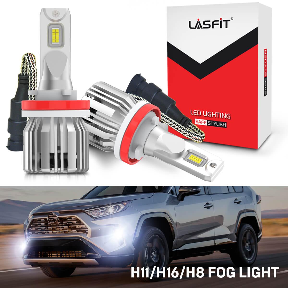 Cree H16 LED Fog Light for Toyota Tundra 2014-2019 RAV4 2013-2019 Tacoma 16-2019