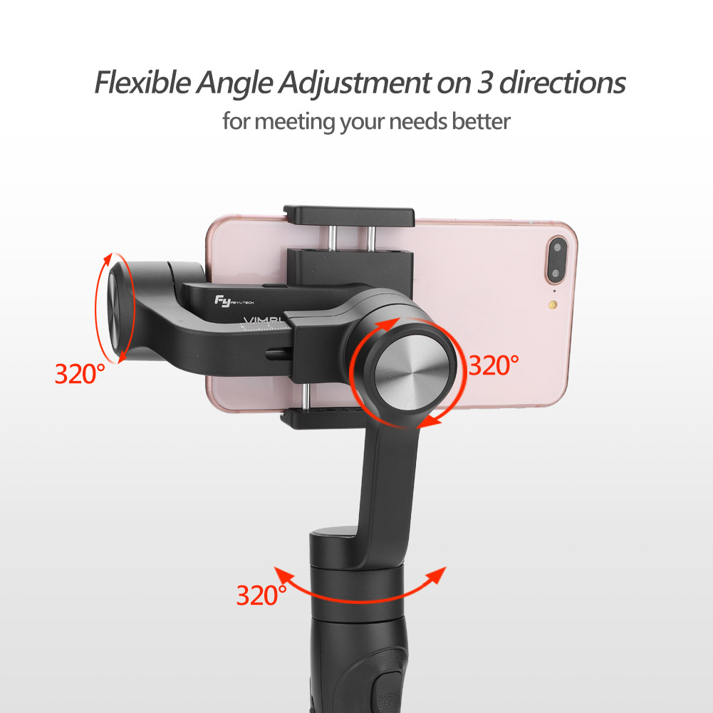 Feiyu-G6-Plus-Handheld-Gimbal-Stabilizer-for-for-Action-Camera-amp-Smartphone-STP thumbnail 19