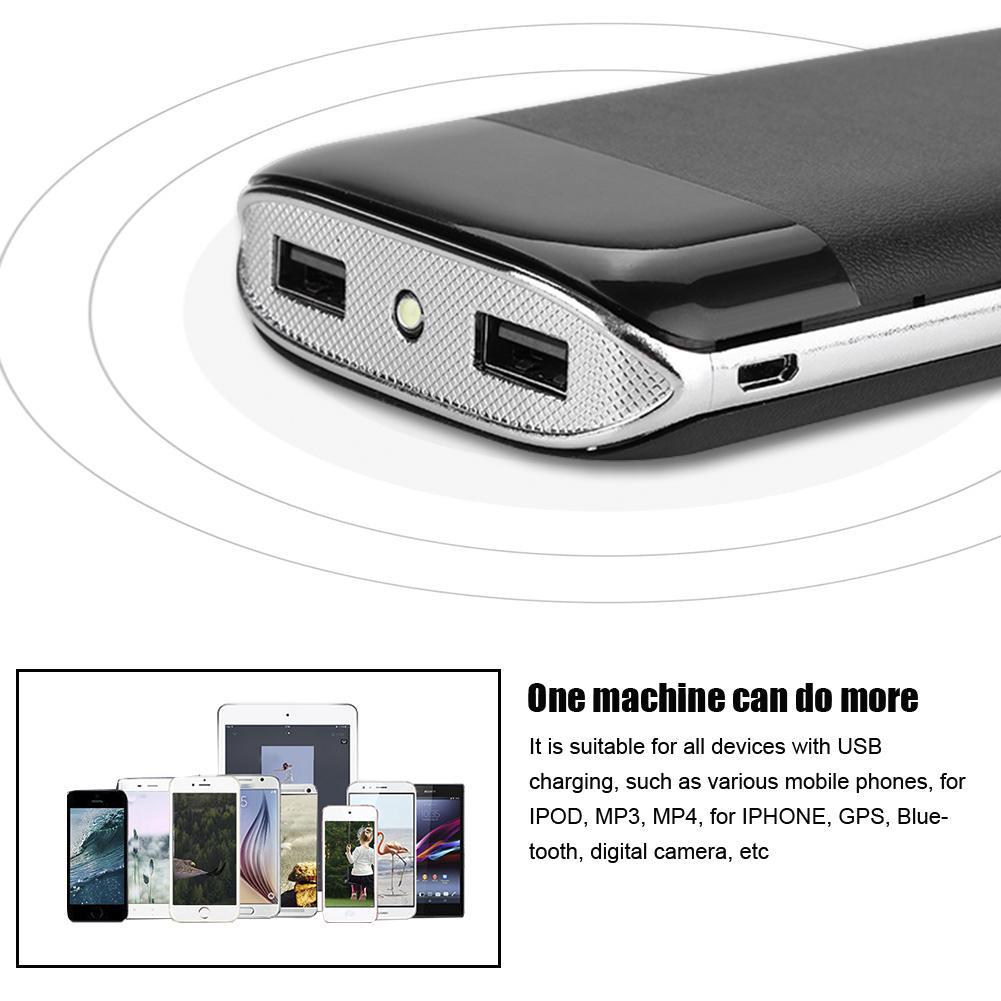 DIY-Power-Bank-Case-10000mAh-Dual-USB-Battery-Charger-Box-Shell-with-LED-Display thumbnail 17