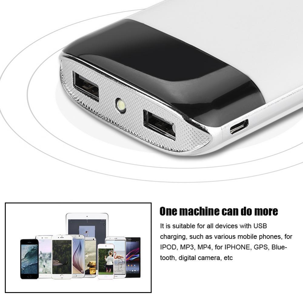 DIY-Power-Bank-Case-10000mAh-Dual-USB-Battery-Charger-Box-Shell-with-LED-Display thumbnail 24