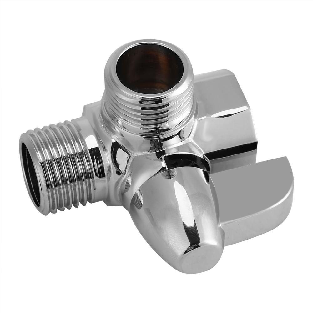 3 Way Bathroom Brass Chrome Diverter G1 2 Quot T Adapter Valve