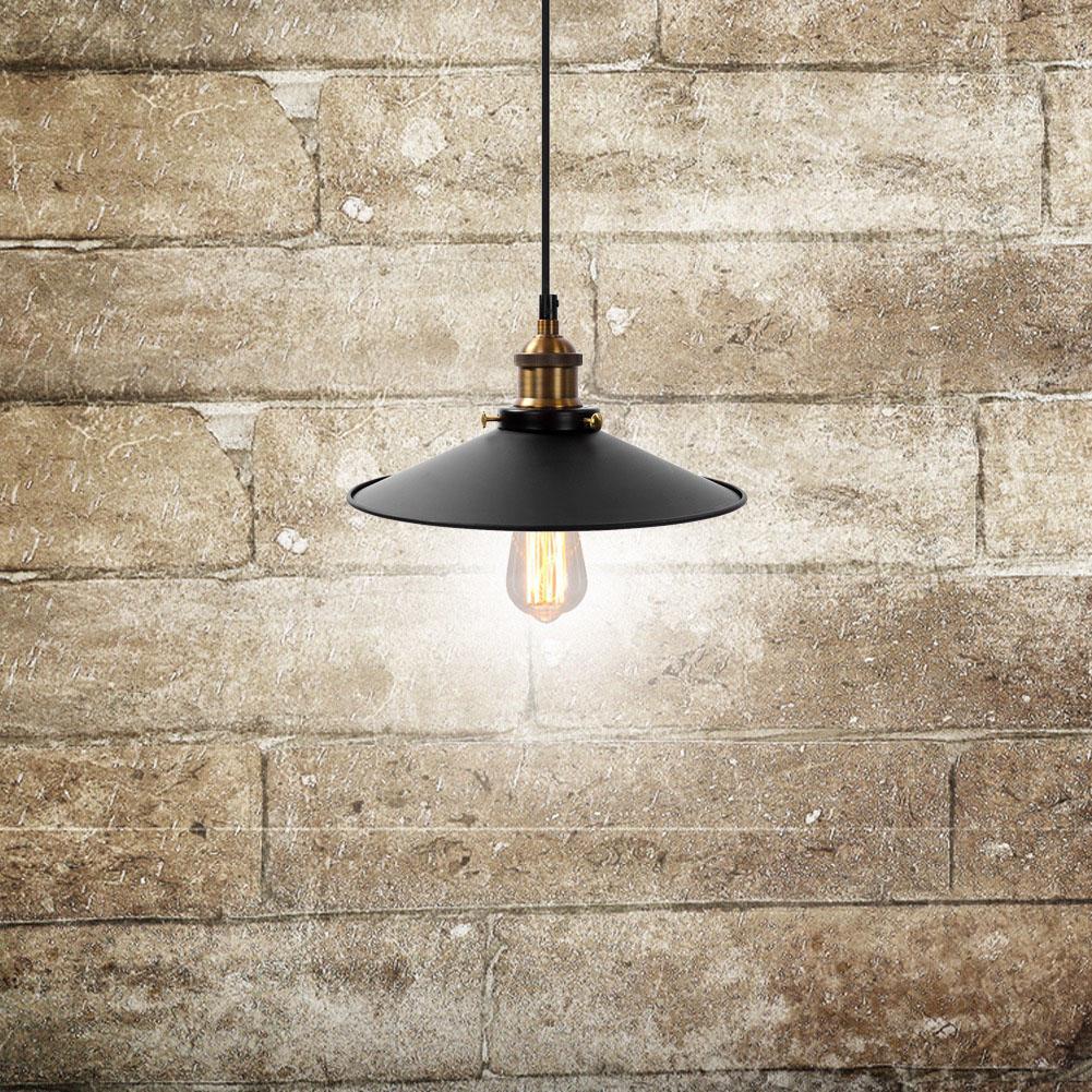 Retro Hängeleuchte Deckenlampe Vintage Industrie Pendelleuchte Decken-Leuchte DE