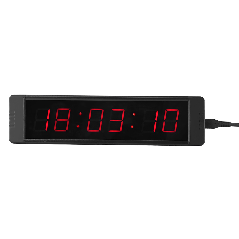 Sporteq Electronic Programmable Crossfit Interval Timer Countdown Boxing Clock