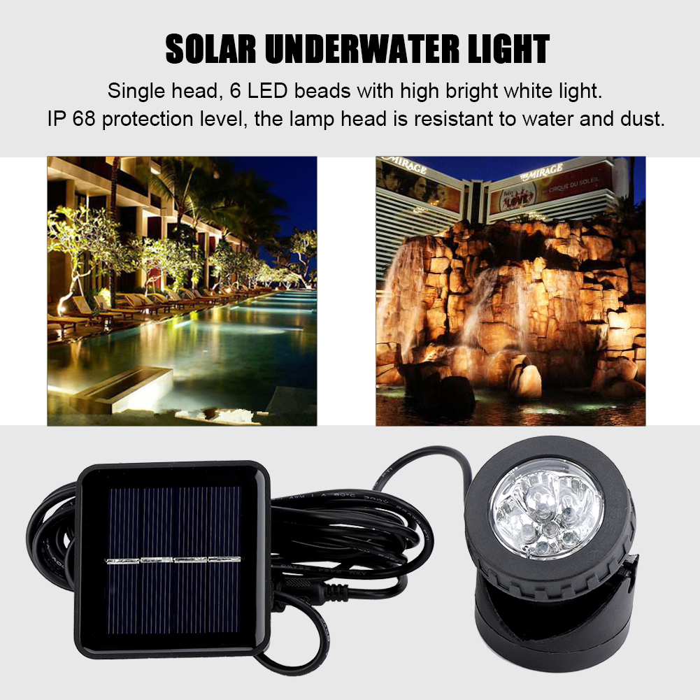 Cooperative Rgb Led Under Water Light Solar Power Pond Swimming Pool Floating Waterproof Led Outdoor Light With Remote Control Lights & Lighting