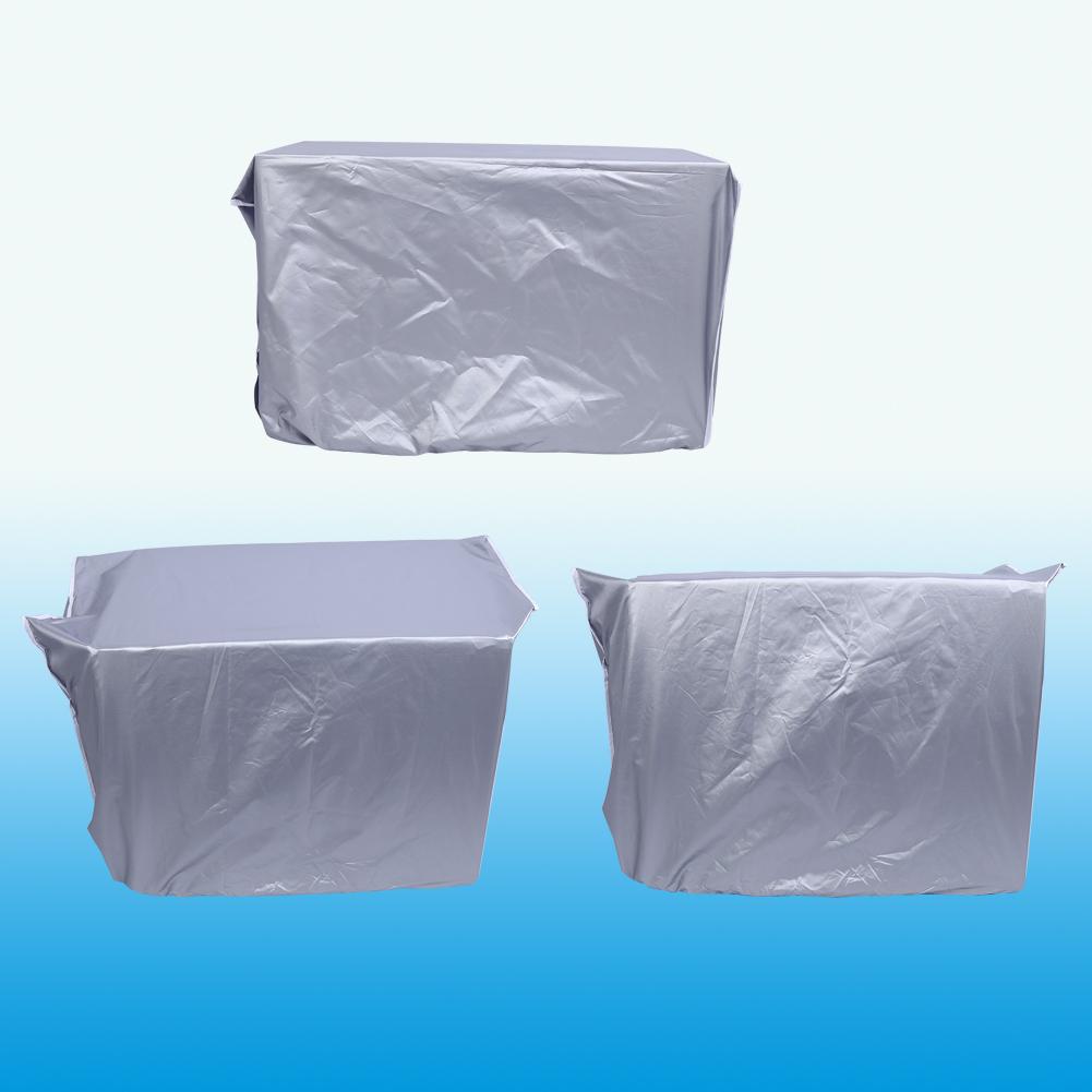 Klimaanlage Abdeckung Schutzhülle Anti-Staub Sauber Reinigung Oxford  2 3