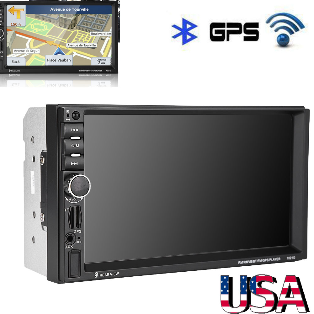 Bluetooth Gps Navigation Hd 7 Car Stereo Dvd Cd Mp3 Mp5 Tv Player Amplifier Power Wiring Install Kit Sub Subwoofer Bullz Audio Epak8r Radio Usb Fm