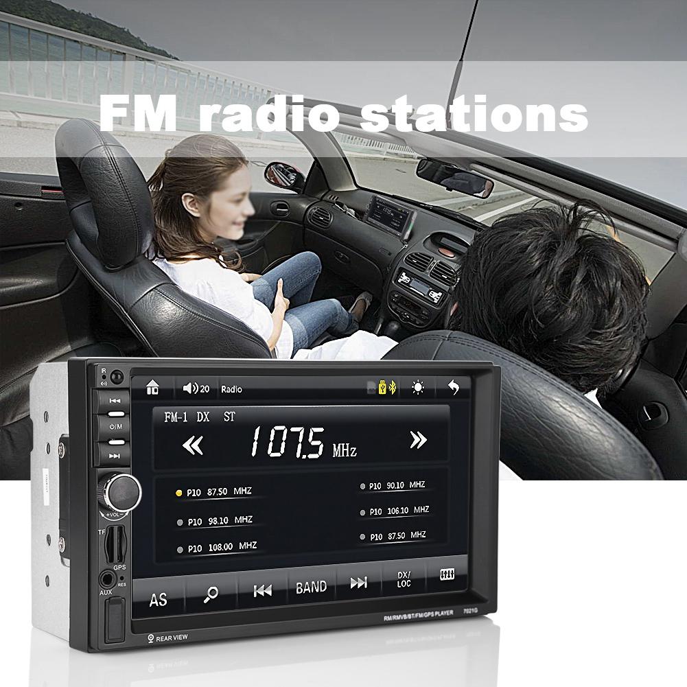 Bluetooth Gps Navigation Hd 7 Car Stereo Dvd Cd Mp3 Mp5 Tv Player Amplifier Power Wiring Install Kit Sub Subwoofer Bullz Audio Epak8r Radio Usb Fm