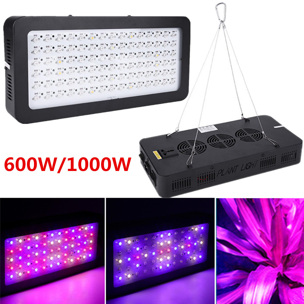 Details about 600W 900W Full Spectrum Hydro LED Grow Light For Medical  Plants Veg Bloom Indoor