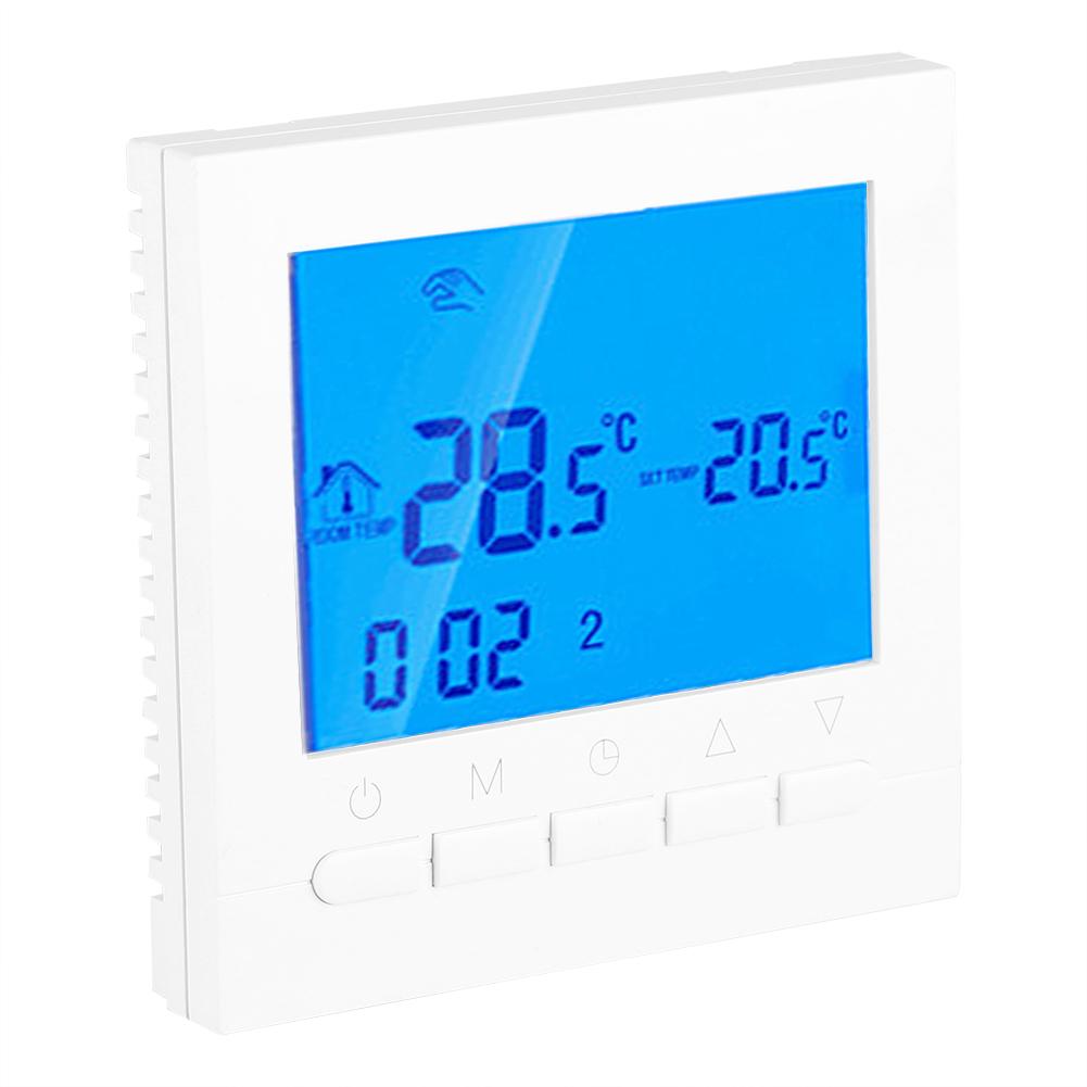 Programmable-WiFi-Smart-Wireless-Digital-Thermostat-LCD-Touch-Screen-App-Control miniature 37