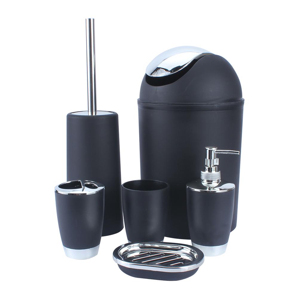 6Pcs/set Plastic Bathroom Suit Bath Accessories Cup ...