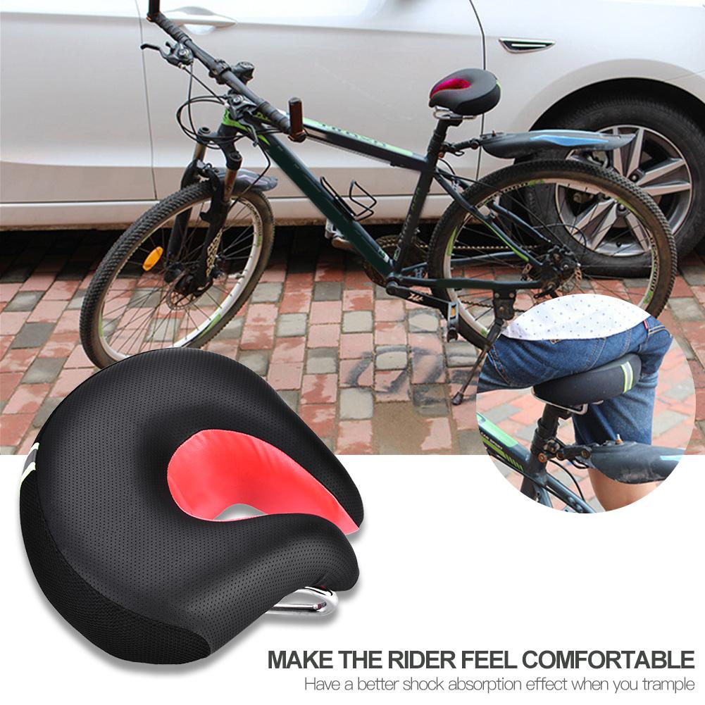 Ergonomic Comfort Mountain Bike Cycling Bicycle Noseless Saddle Cushion Seat Pad