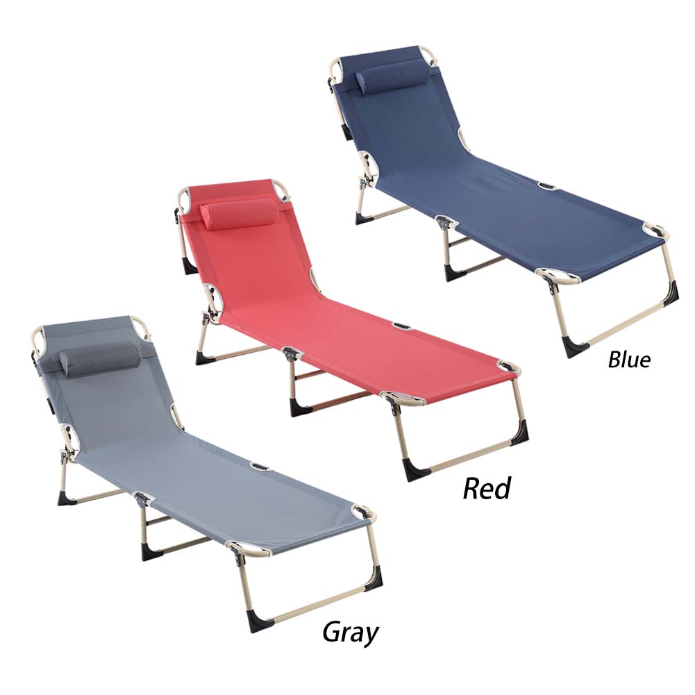 Super Details About Folding Chaise Lounge Chairs Beach Recliner Patio Pool Camping Indoor Outdoor Us Evergreenethics Interior Chair Design Evergreenethicsorg