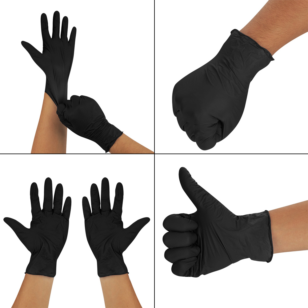 details about 100-1000pcs disposable industrial gloves nitrile gloves  tattoo glove silicone au