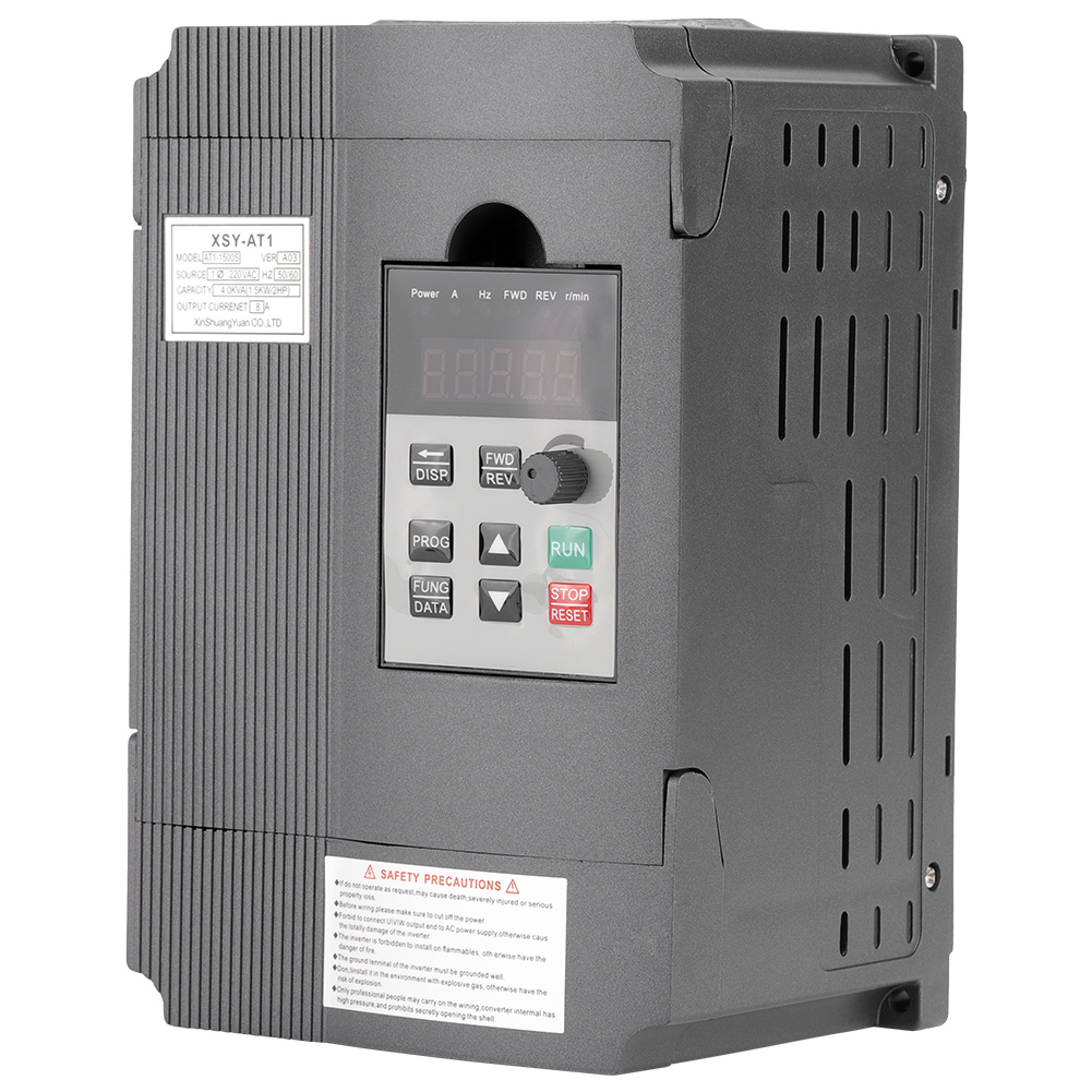 details about 1 5kw 220v 8a variable frequency drive vfd speed controller for 2 phase ac motor