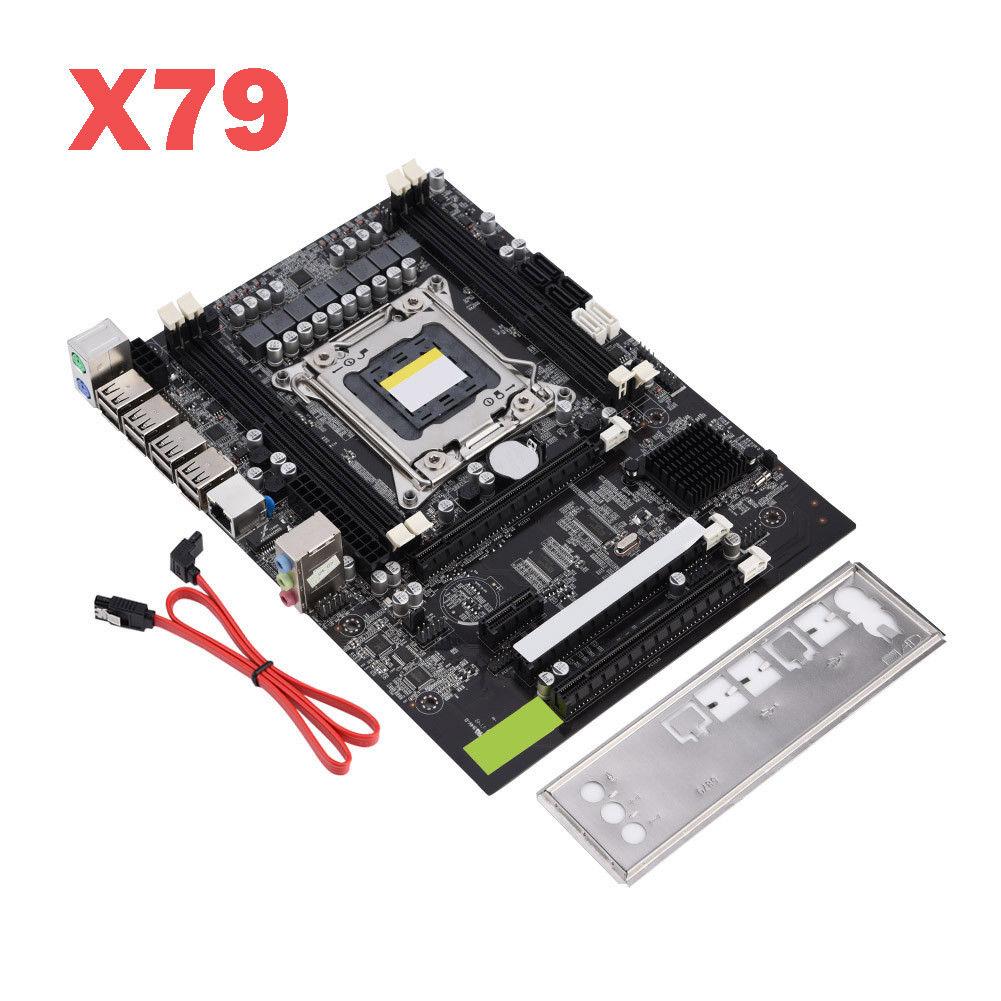 For-Intel-H61-X79-B250-X58-G31-LGA-2011-1155-DDR3-Motherboard-16x-PCIE-Mainboard miniature 22