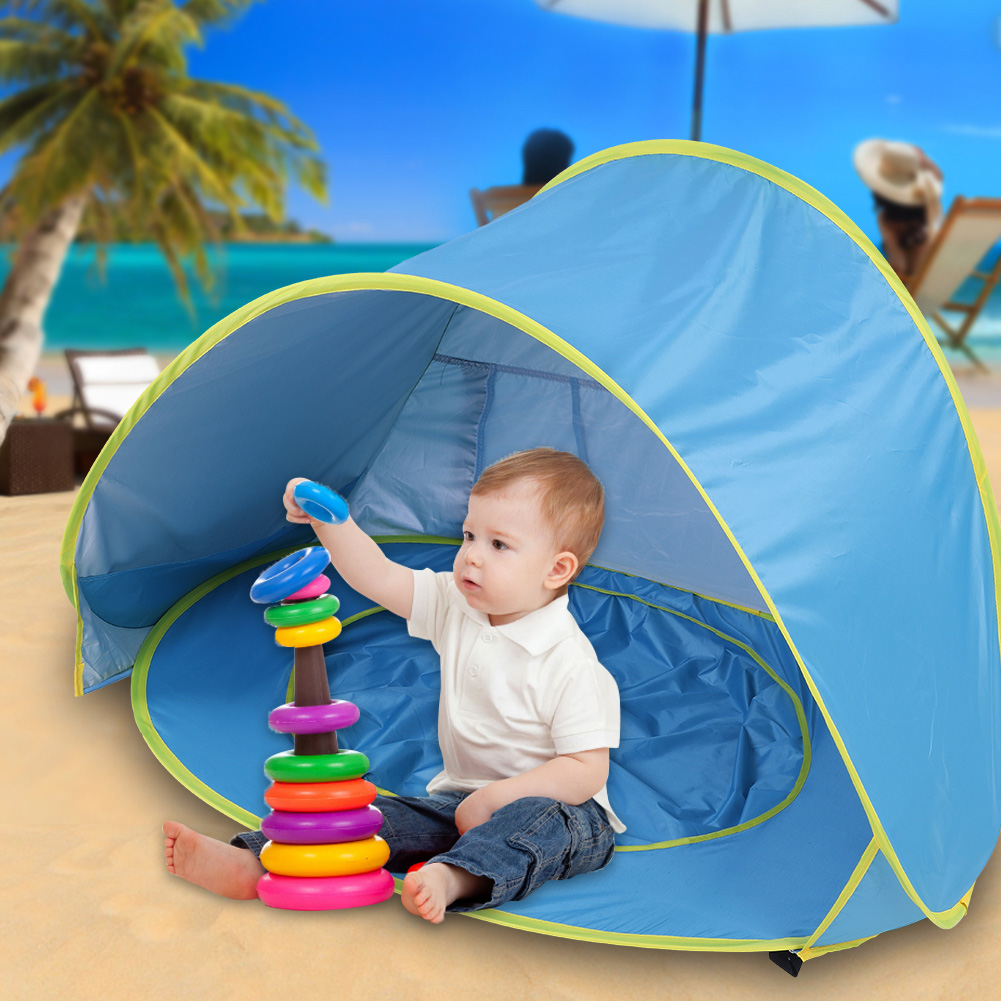 Baby Sun Tent Beach Shade Shelter Anti UV Outdoor Portable Pop Up Travel Kids UK