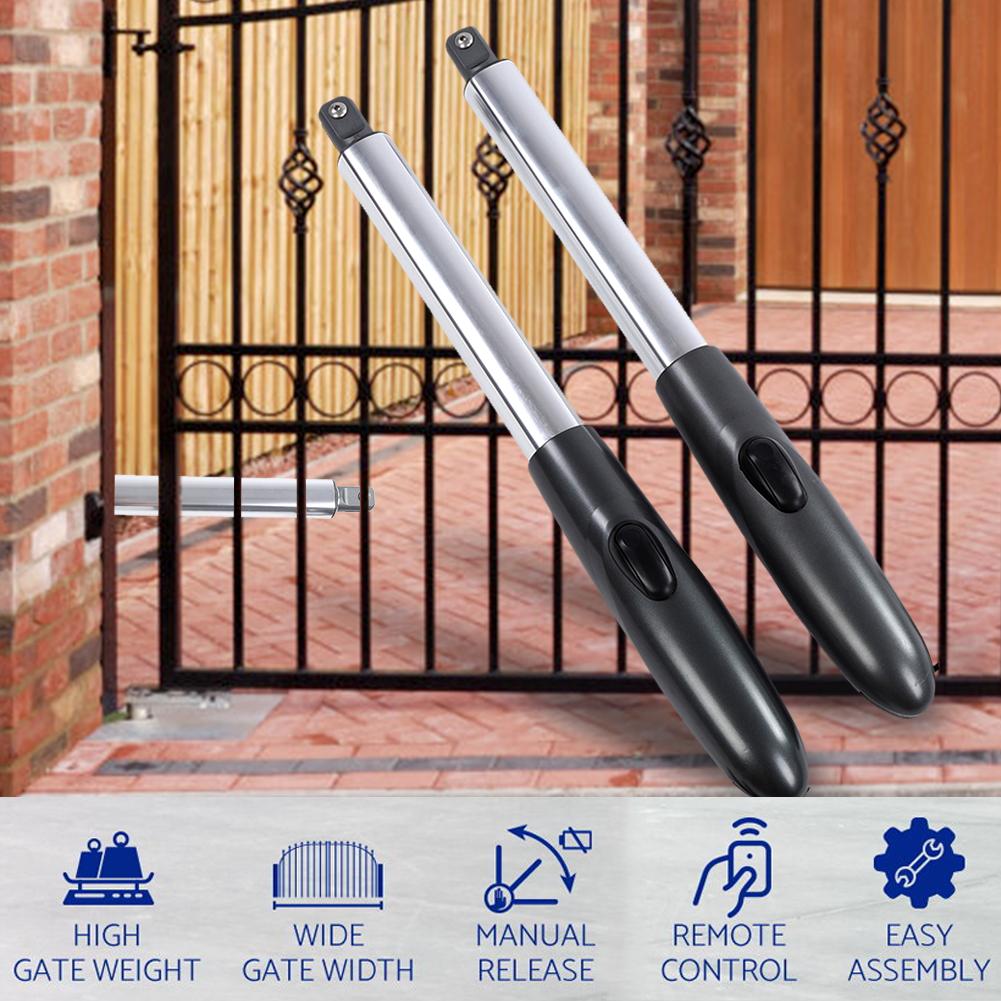 660lb Heavy Duty Single//Dual Heavy Duty Dual Swing Automatic Gate Opener