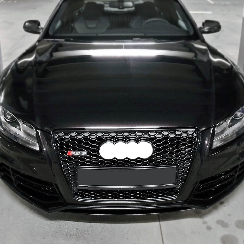 For Audi A5 S5 Black Grill Rs5 Style Front Grill Honeycomb Mesh