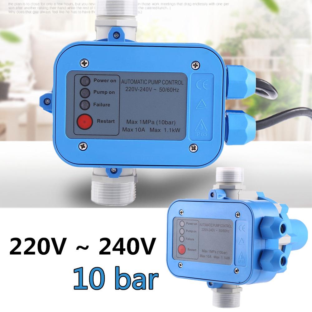 Garten Pumpensteuerung Druckschalter Automatik Pumpe 10 bar f Hauswasserwerk