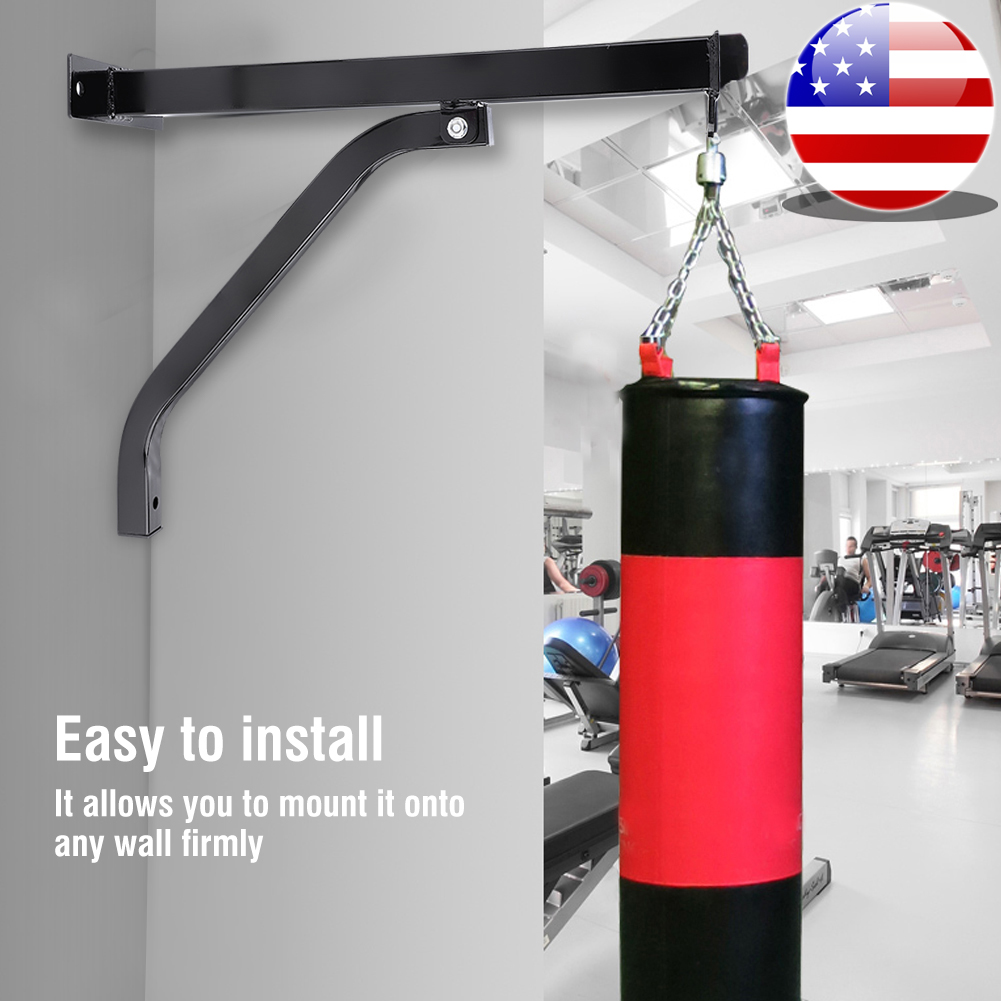 ARD™ Heavy Duty Punch Bag Wall Bracket Steel Mount Hanging Stand Boxing Hanger