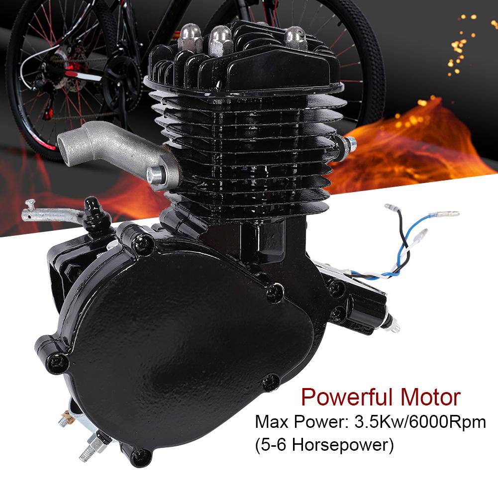 2 takt 80cc motor fahrrad 55km h luftk hlung benzin. Black Bedroom Furniture Sets. Home Design Ideas