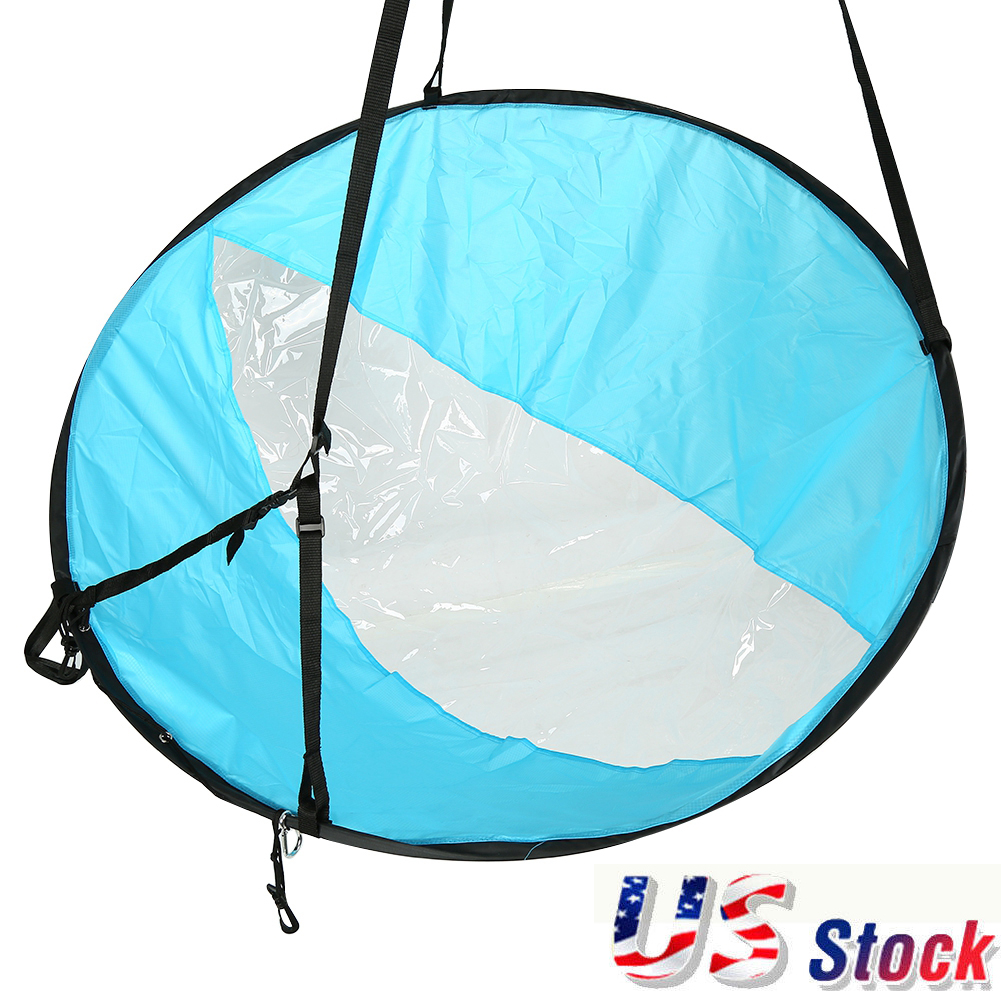 """42/"""" Downwind Wind Paddle Popup Board Kayak Wind Sail Accessories PVC"""