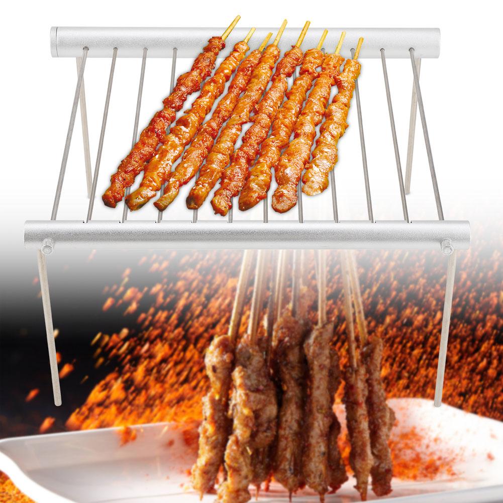 Grill BBQ Edelstahl Brenner Seitenkocher Grillschlauch Faltbar Tragbar Außen wow