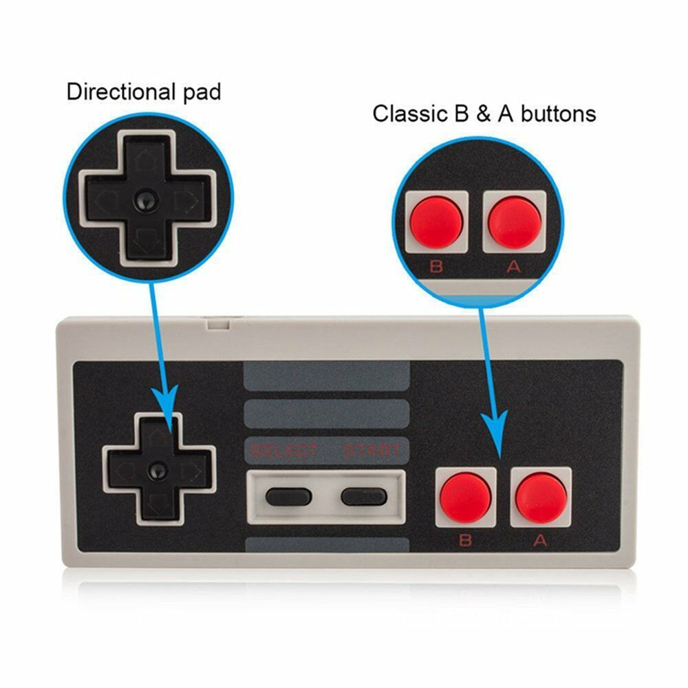 Wireless-Game-Controller-Gamepad-for-Nintendo-NES-Mini-Classic-Edition-Console thumbnail 20