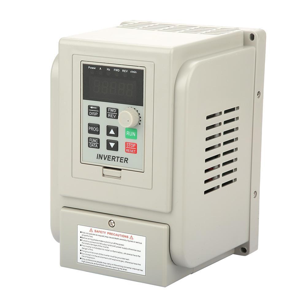 220VAC 1HP VFD Inverter Drehzahlregler Kontroller für 3-phase 2.2kW AC Motor