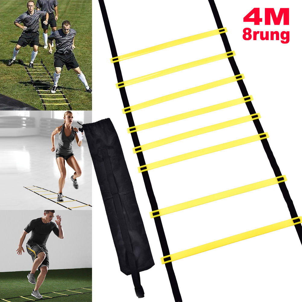 Agility Speed Training Ladder Footwork Fitness Football Workout Exercise Workout
