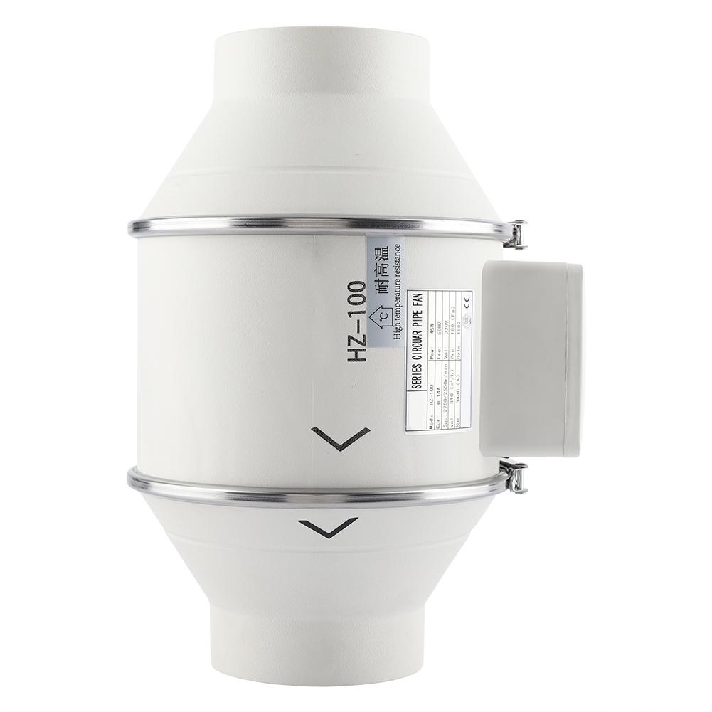 4/6/8 inch Inline Duct Fan Exhaust Fan Air Blower Bathroom ...