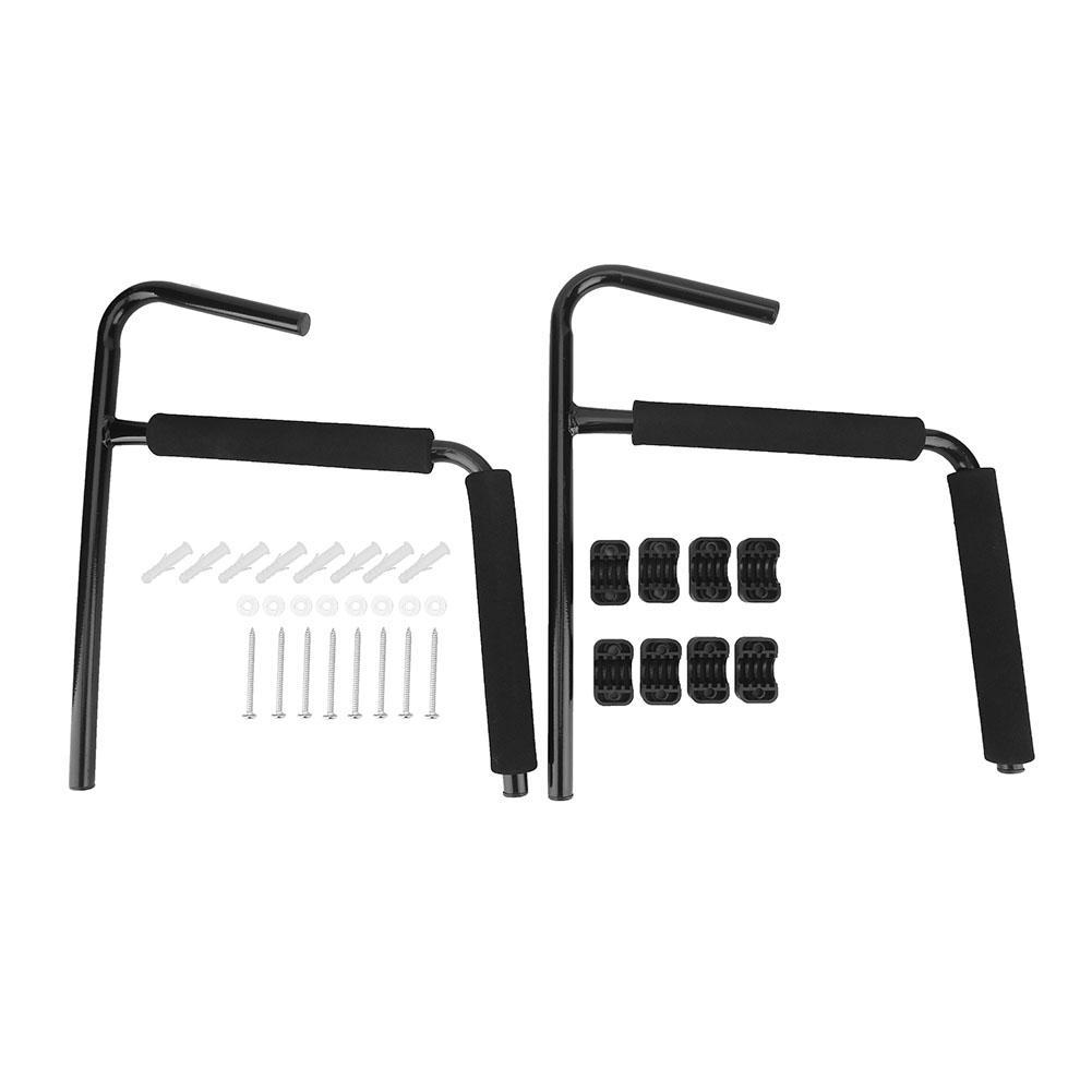2x Wandhalterung Wandhalter mit Paddel-Halter für Kajak kanu Paddelboot Stahl./'`
