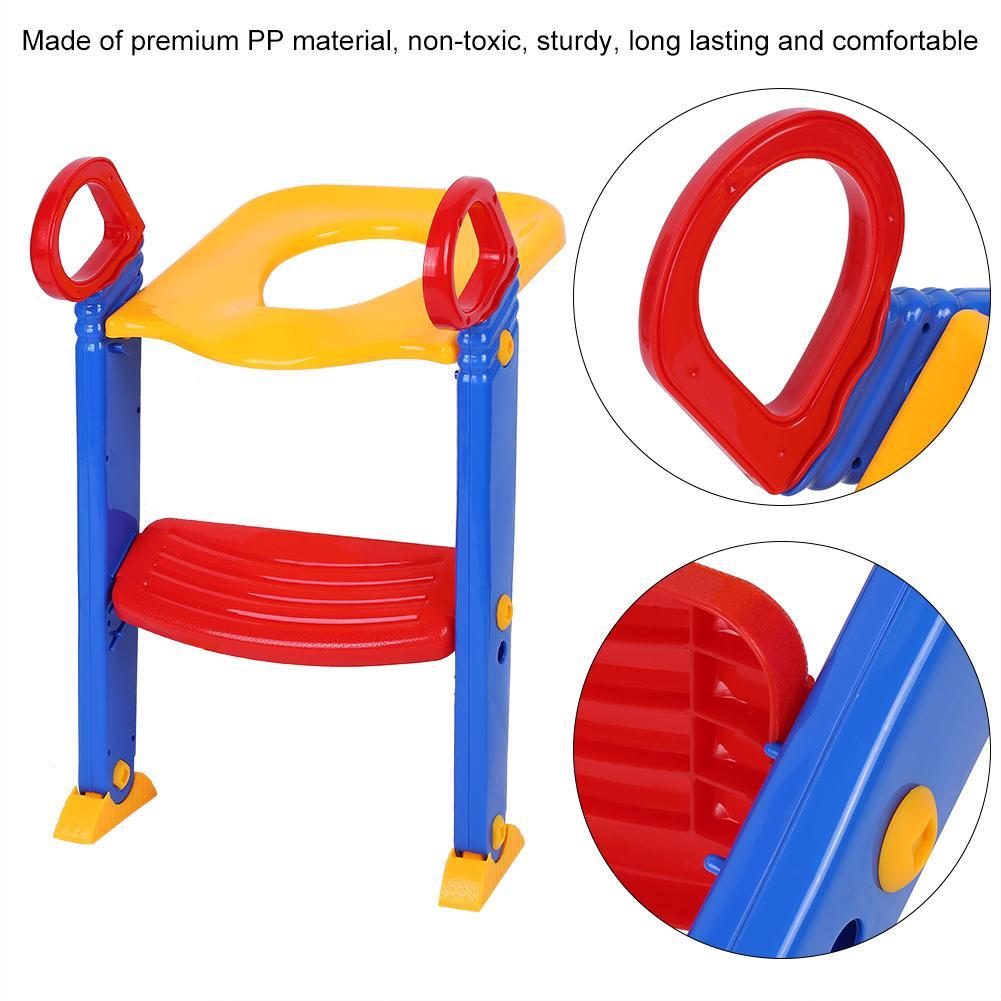 Toilettentrainer mit Treppen 3in1 Baby Toilettensitz Lerntöpfchen Kind Töpfchen
