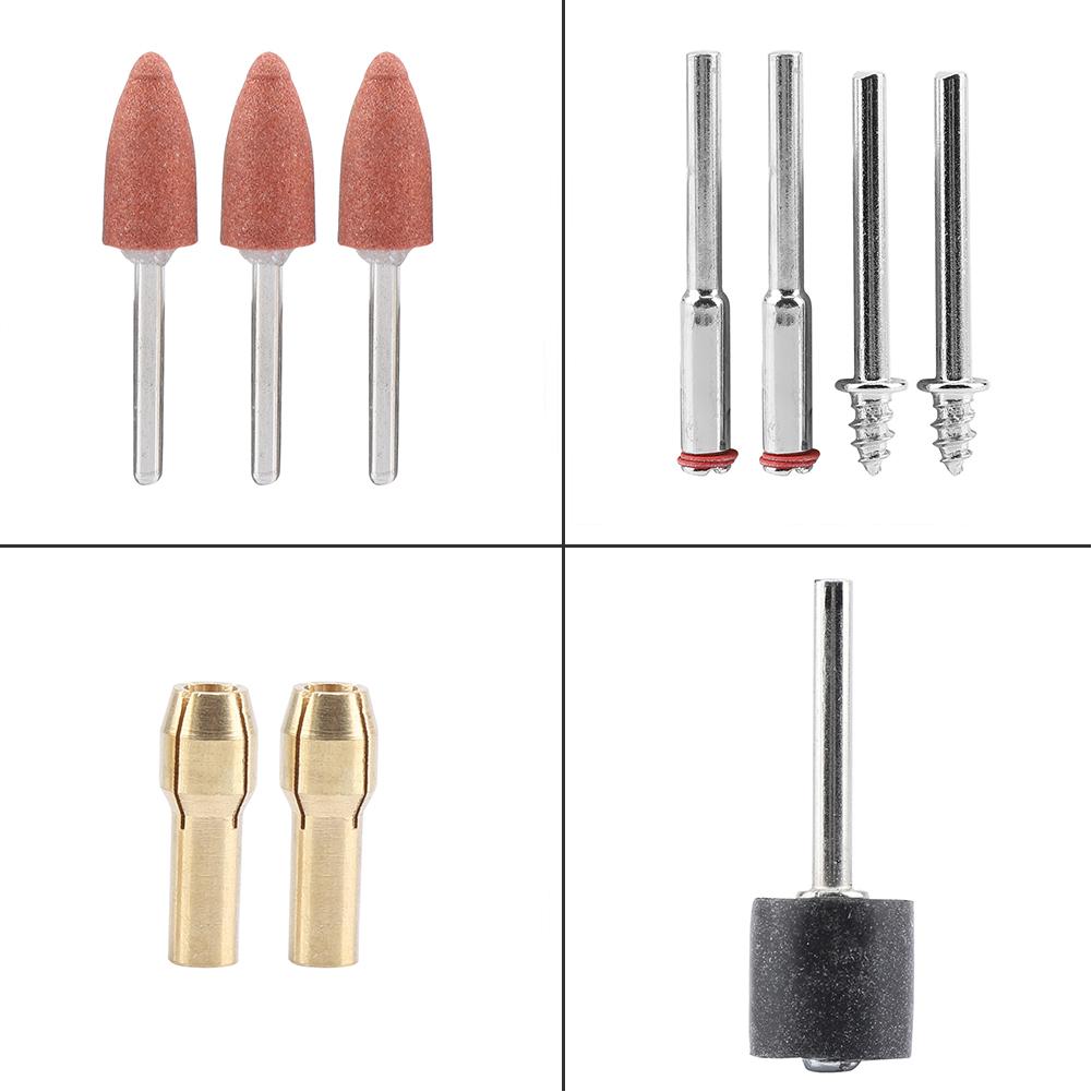 347Pcs For Dremel Rotary Tool Accessories Kit Grinding Polishing Shank Bits