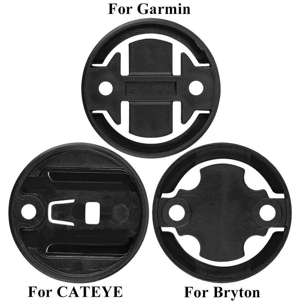 Fahrrad Computer GPS Halter Lenkerhalterung Adapter für Garmin Briton Cateye