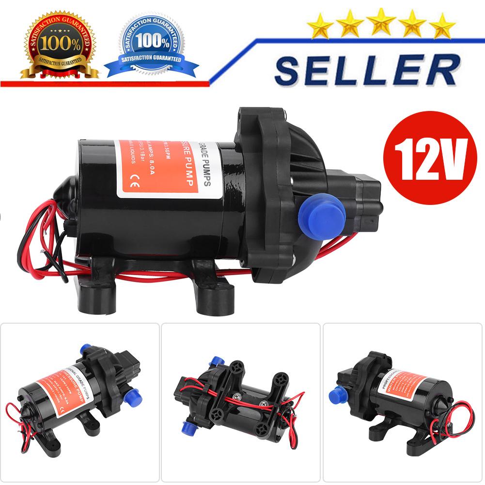 12V 45PSI Wasserpumpe Hochdruckpumpe Pumpe Membranpumpe f Yacht Wohnwagen Garden