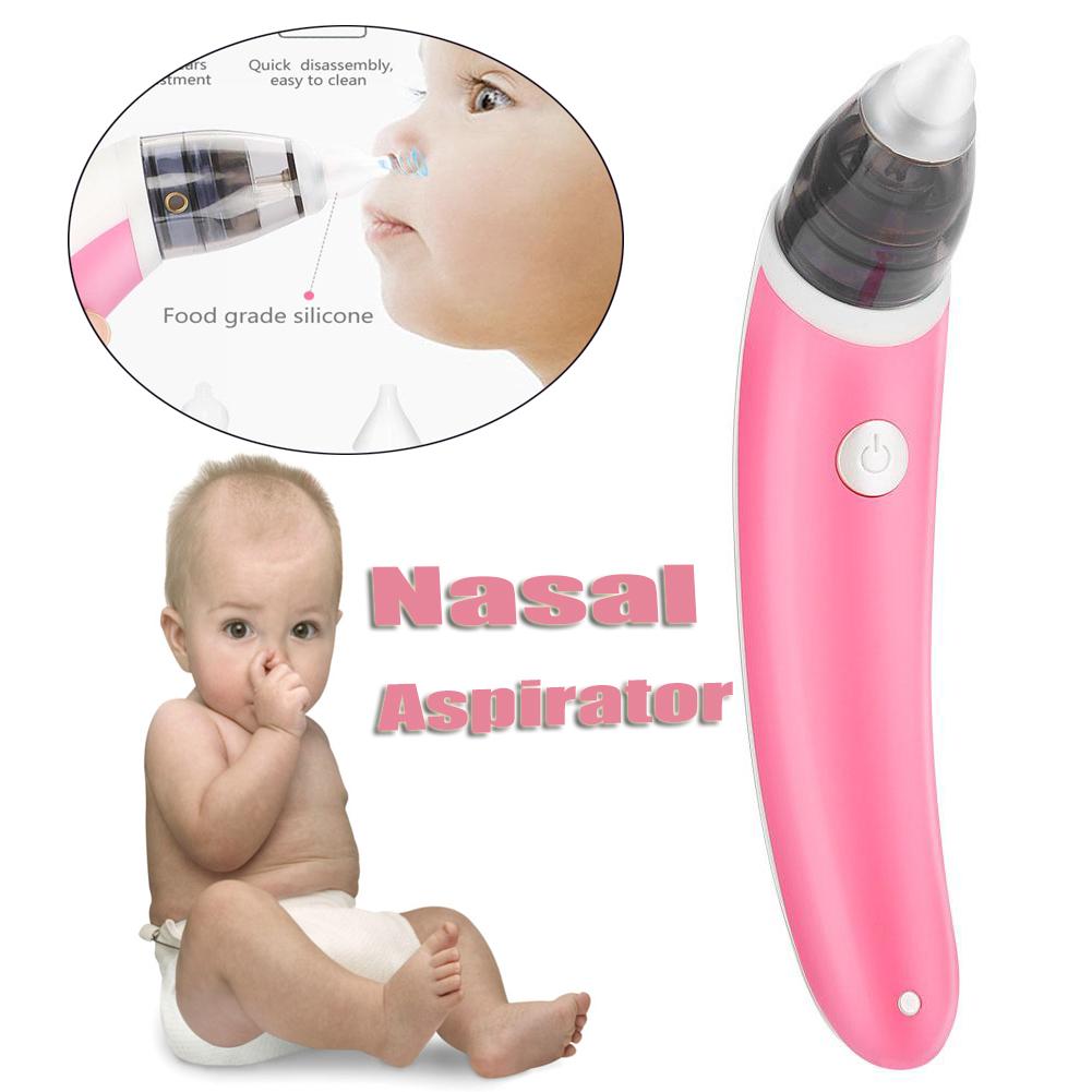 Elektrisch Nasensauger Nasenreiniger Baby Aspirator Schleim Schnufpen Sauger EY