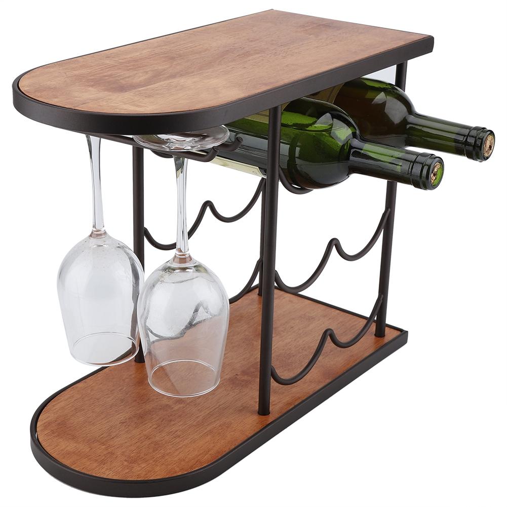 Weinregale Mobel Wohnen Glaserhalter Glaserschiene Eisen Holz