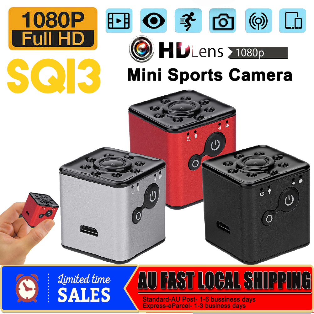 SQ13 WiFi 1080P Infrared Mini Camera Sport DV Monitor Video Recorder Camcorder S