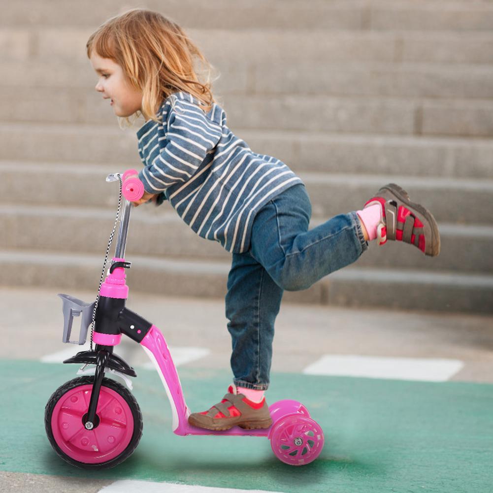 2 in 1 kinder scooter roller 3 r der kinderroller. Black Bedroom Furniture Sets. Home Design Ideas